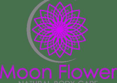 Moon Flower Natural Body Care / Brand Design