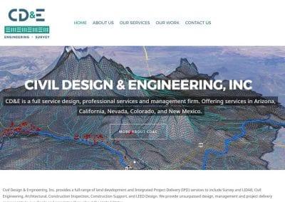 Civil Design & Engineering /  Website Design / SEO