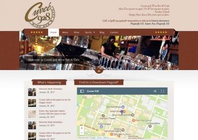 Cuvee 928 Winebar /  Website Design / SEO / Conversion Optimization / Email Marketing / Social Media