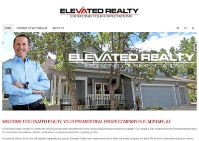 Elevated Realty / Website Design