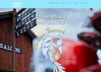 Flagstaff RoundUp / Website Design / SEO / Conversion Optimization / Email Marketing