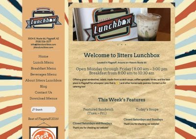 Jitter's Lunchbox /  Website Design / SEO / Conversion Optimization / Email Marketing