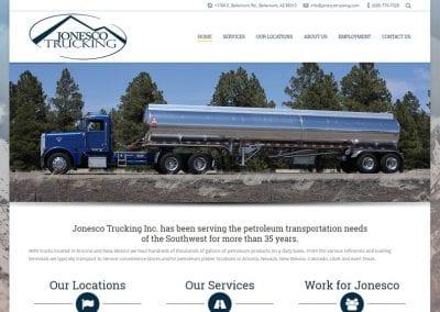 Jonesco Trucking / Website Design / SEO