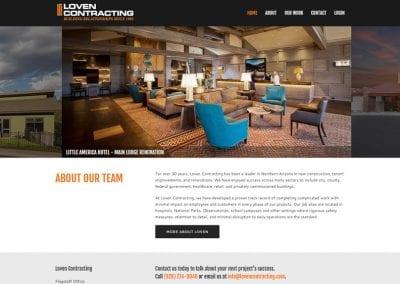Loven Contracting / Website Design / SEO / PPC Management / Conversion Optimization