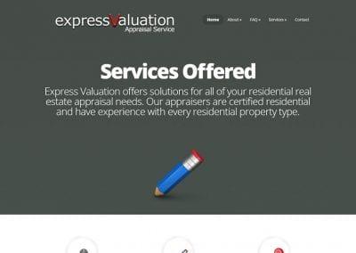 Express Valuation Appraisal Service / Brand Design / Website Design / SEO / PPC Management / Conversion Optimization